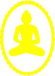 Strijkapplicatie Boeddha frame