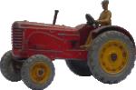 Strijkapplicatie Tractor Boertje