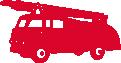 Strijkapplicatie Brandweerauto