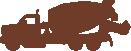 Strijkapplicatie Cementwagen