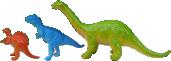 Strijkapplicatie Dino Rij