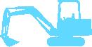 Strijkapplicatie Graafmachine