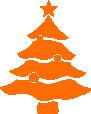 Strijkapplicatie Kerstboom Ballen