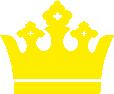 Strijkapplicatie Kroon King