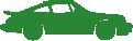 Strijkapplicatie Super Sportwagen