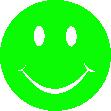 Strijkapplicatie Smiley