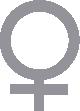 Strijkapplicatie Symbool Vrouw
