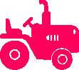 Strijkapplicatie Tractortje