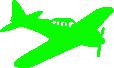 Strijkapplicatie Vliegtuigje