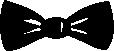 Strijkapplicatie Vlinderstrik