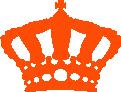 Strijkapplicatie Willems Kroon