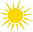 Strijkapplicatie Zonnestralen