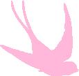 Strijkapplicatie Zwaluw duik