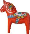 Strijkapplicatie Zweeds Paard