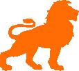 Strijkapplicatie Leeuw