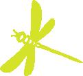 Strijkapplicatie Libelle