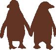 Strijkapplicatie Pinguïns