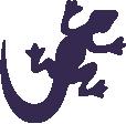 Strijkapplicatie Salamander