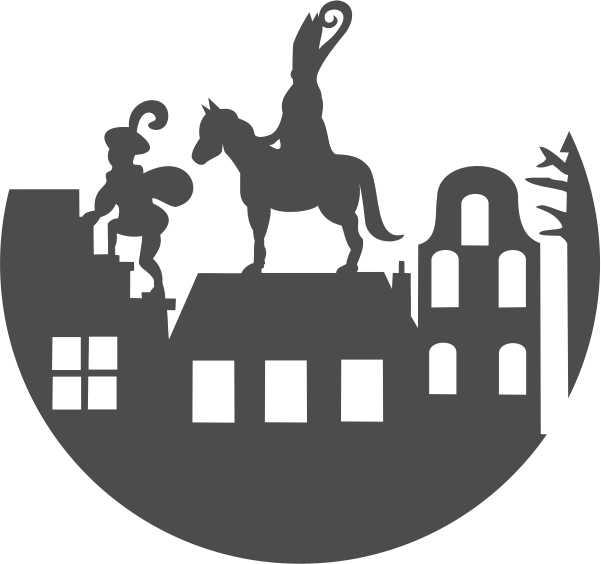 Strijkapplicatie Sint Piet Americo