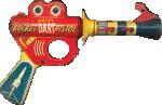 Strijkapplicatie Space Gun