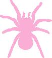 Strijkapplicatie Spin Tarantula