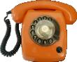 Strijkapplicatie Retro Telefoon
