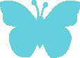 Strijkapplicatie Vlindertje