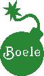 Strijkapplicatie Bommetje Naam