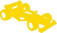 Strijkapplicatie Racewagen F1