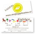 Strijkapplicatie Kadobon