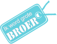 Strijkapplicatie Label Broer