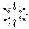 Strijkapplicatie Sneeuwvlok 5