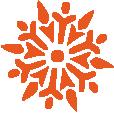 Strijkapplicatie Sneeuwvlok 3