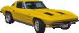 Strijkapplicatie Sportwagen