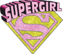 Strijkapplicatie Super Girl