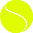 Strijkapplicatie Tennisbal
