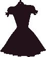 Strijkapplicatie Little Dress