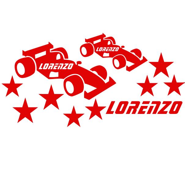 Racewagen sticker