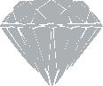 Strijkapplicatie Diamant Kroon Dicht