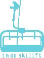 Strijkapplicatie Skilift