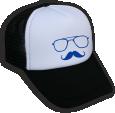 Strijkapplicatie Mr Snor CAP