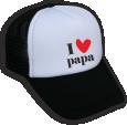 Strijkapplicatie Love papa CAP