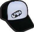 Strijkapplicatie Love Wolk CAP