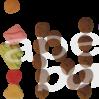 Strijkapplicatie Sint Snoep