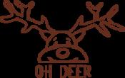 Strijkapplicatie Oh Deer