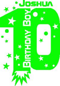 Strijkapplicatie B-Day 10