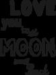Strijkapplicatie 2 the moon