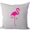Strijkapplicatie Origami Flamingo