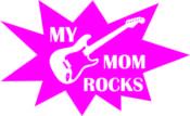 Strijkapplicatie My MOM Rocks