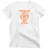 Strijkapplicatie Oranje Fan